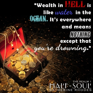 wealth in hell
